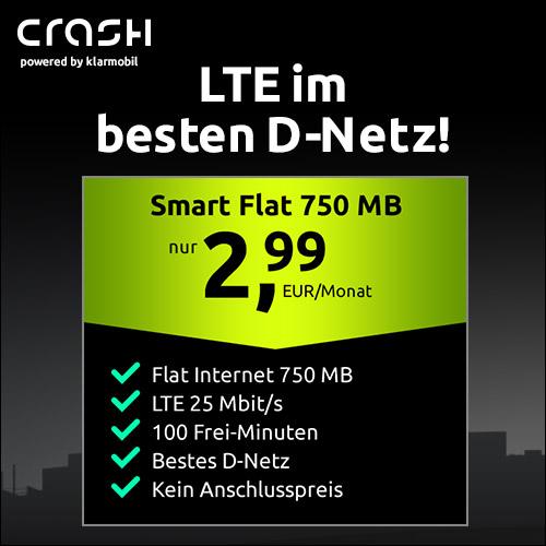 Telekom 🎉 750MB LTE + 100 Min für 2,99€ mtl. (ohne AG)