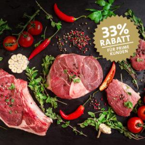 Kreutzers Prime 🥩🔥 Dauerhaft 20% Rabatt auf Fleisch, Fisch, Wein & mehr + gratis Gin/Nussler