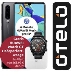 📲 Otelo Allnet mit 10GB LTE + Huawei P30 + Watch GT + Waage