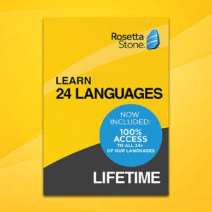 [TOP] Rosetta Stone: lebenslang 24 Sprachen lernen (auch per App)