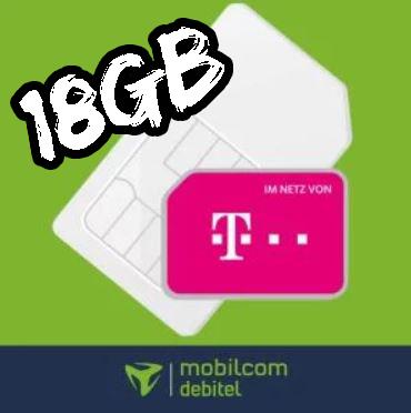 Black Week KNALLER 🚀 Telekom Allnet mit 18GB LTE für 16,99€ / 26GB für 19,99€ // Vodafone für 14,99€ mtl.
