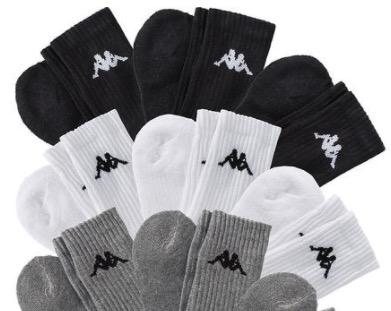 3x 9er Pack Kappa Socken Sport