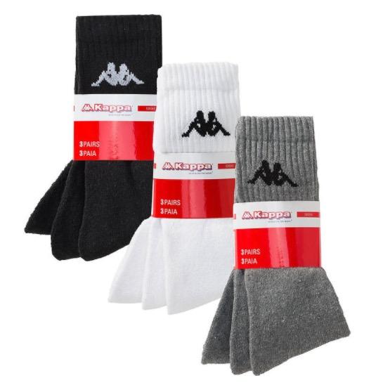 3x 9er Pack Kappa Sport Socken