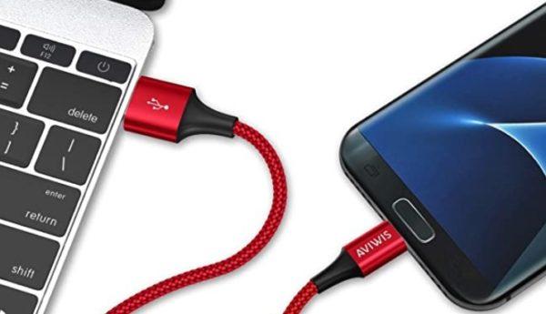 4x AVIWIS USB Kabel 03   3m ummantelt