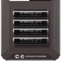 4x Panasonic Eneloop Pro AAA Akkus Ready to Use Ni MH