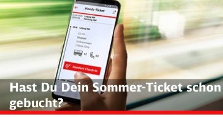 Bahn Sommerticket