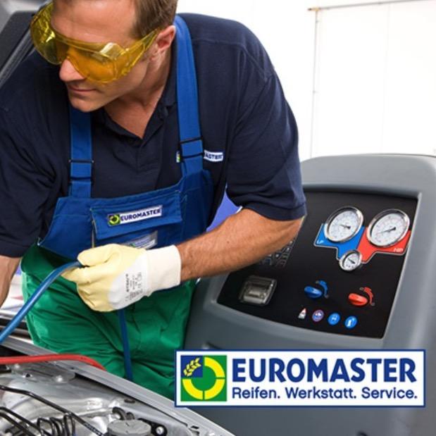 Bei EUROMASTER Wartung eurer Klimaanlage inkl. Kaeltemittel