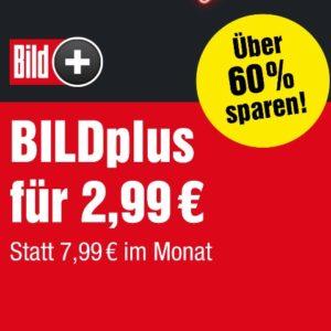 """12 Monate """"BILDplus"""" ab 2,50€ mtl. 🎊 Zugang zu Premium Inhalten"""