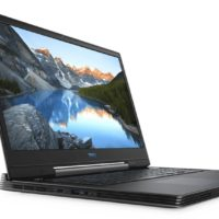 DELL G7 7790 Gaming Notebook mit 173 Zoll Display Core i5 Prozessor 8 GB RAM 1 TB HDD 128 GB SSD GeForce RTX 2060 Schwarz Grau