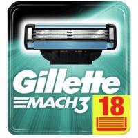 Gillette Mach3 Rasierklingen fuer Maenner 18 Stueck Briefkastenfaehige Verpackung
