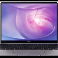 HUAWEI Matebook 13 Notebook mit 13 Zoll Display Ryzen 5 Prozessor 8 GB RAM 512 GB SSD Radeon Vega 8 Grafik Space Gray