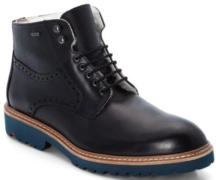 LLOYD Leder Boots Villod in Dunkelblau