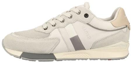 LLOYD Leder-Sneakers in weiß hellgrau