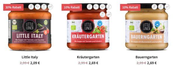Little Lunch  Sale Little Italy fuer 209 Kraeutergarten fuer 269 usw