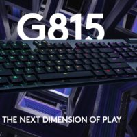 Logitech G815 Lightspeed RGB Gaming Tastatur