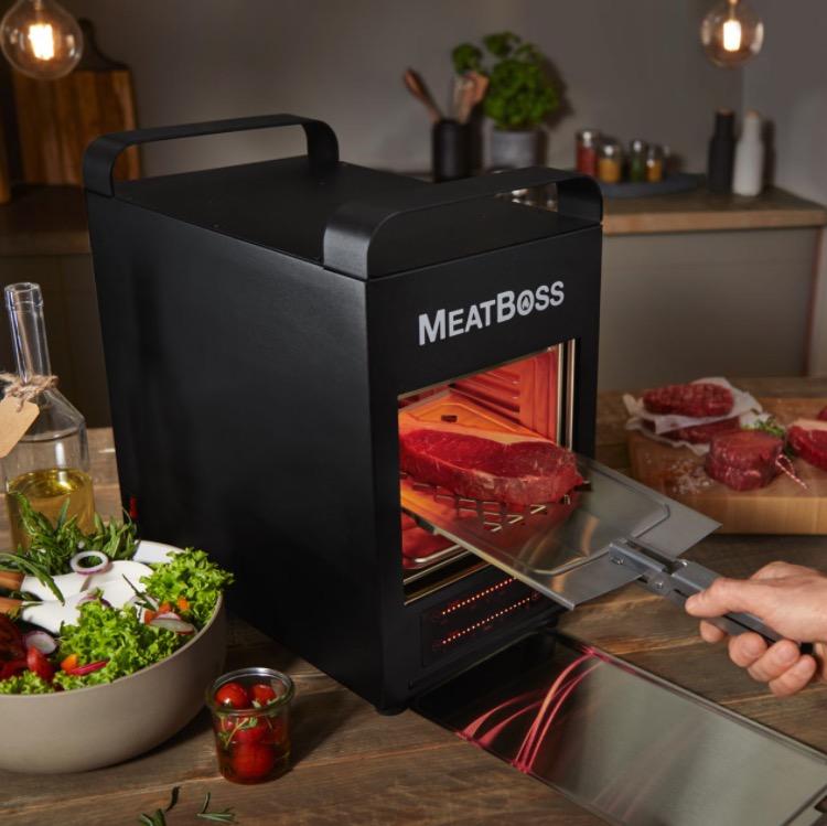 MeatBoss  850 Oberhitzegrill fuer Steaks  mehr