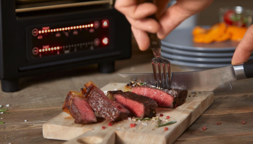 MeatBoss  850 Oberhitzegrill fuer Steaks u mehr