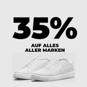 35% auf ALLES 🔥😃 z.B. Sneaker von Nike, Adidas & mehr (Gratis-Versand!)