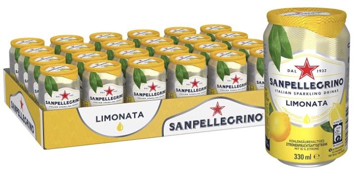 San Pellegrino Limonata Zitronen Limonade Hoher Fruchtanteil