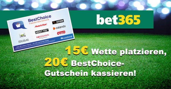 bet365 bonus deal