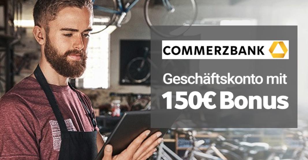100 Guthaben  50 GS  fuer das Commerzbank KlassikGeschaeftskonto