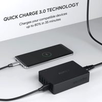 AUKEY Quick Charge 3.0 Multi Port USB Ladegeraet