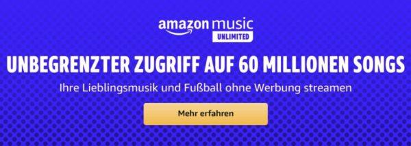 Amazon Music Unl 3 Monate