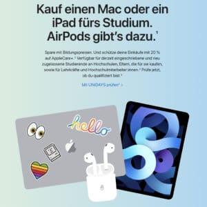 Apple Store Bildung  Rabatte fuer Lehrkraefte Mitarbeiter und Studierende   Apple DE 2021 07 18