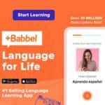 Babbel 🗣 Lebenslang 14 Sprachen lernen (per App) mit 60% Rabatt