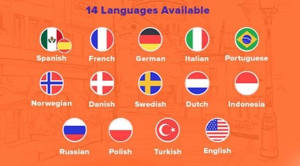 Babbel alle Sprachen