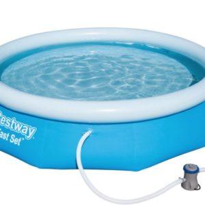 Bestway Fast Set Pool 305 x 76 inkl Filteranlage