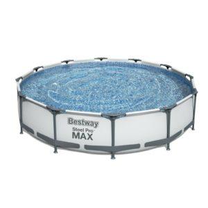 Bestway Steel ProMAX 🏊♂️💧 Aufstellpool (Ø 366x76 cm) inkl. Filtersystem