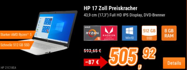 HP 17-ca1147ng 17,3