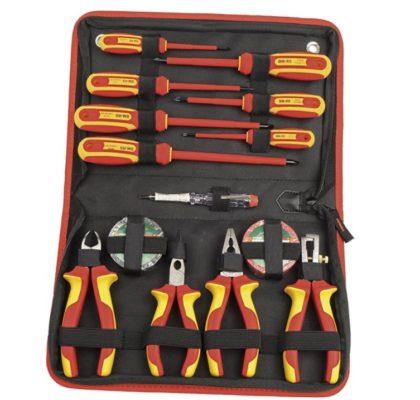 Brueder Mannesmann Werkzeug M11214 VDE Schraubendreher Zangen Satz 14 tlg 420x400 1
