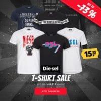 Diesel T-Shirts bei Sportspar