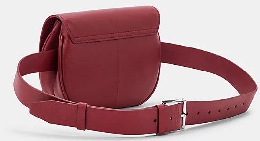 Round Love Note Belt Bag