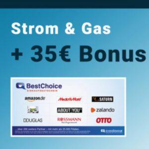35€ Bonus ⚡🎉 für Strom- und Gas Wechsel (via Preisvergleich.de)
