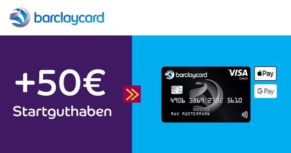 barclaycard visa 50euro