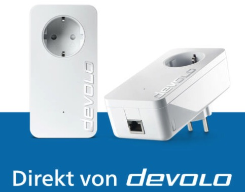 devolo dLAN 1200 2x Powerline Adapter   Internet aus der Steckdose 1200 Mbps