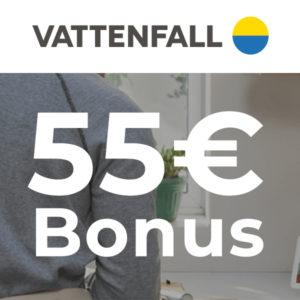 ⚡ Vattenfall Strom: GRATIS Google Nest Mini + 55€ Bonus