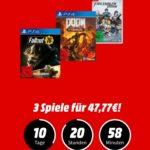 MediaMarkt: 3 Games für nur 47,77€