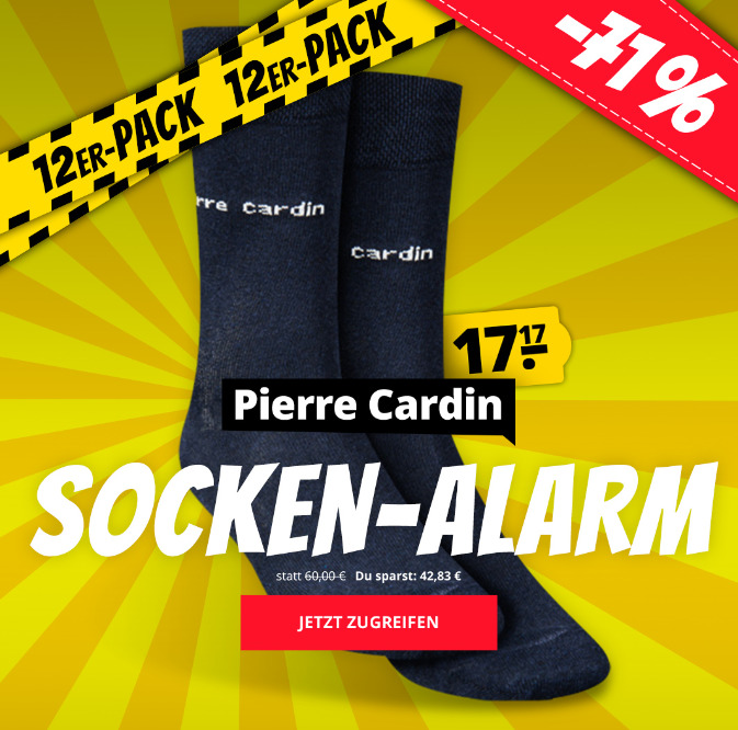Pierre Cardin 12er-Pack Herren Business Socken 1760-3-A Sportspar