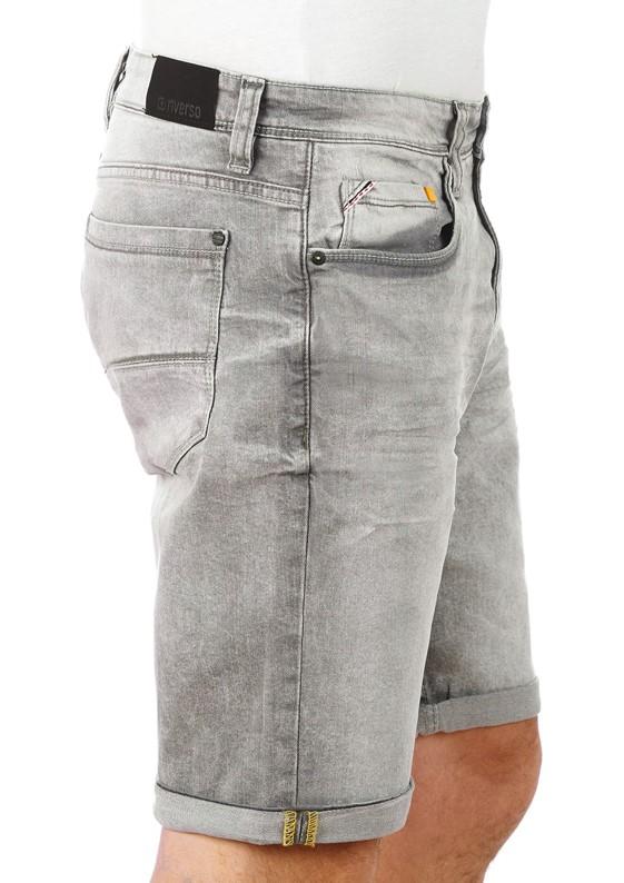 riverso Herren Jeans Shorts RIVUdo Kurze Bermuda Hose Sommer Short W30 - W42