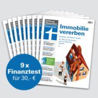 9 Ausgaben Finanztest fuer 3000   Buch 22Geldanlage fuer Anfaenger22 und Notizbuch gratis