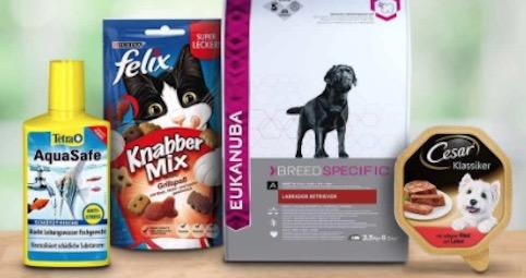Amazon Haustier Artikel  Nimm 4 zahl 3 mit Whiskas Pegigree