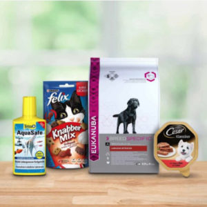 Amazon Haustier-Artikel 🐕 🐈 Nimm 5, zahl 4: mit BioKat, Kitekat und Spielzeug usw.