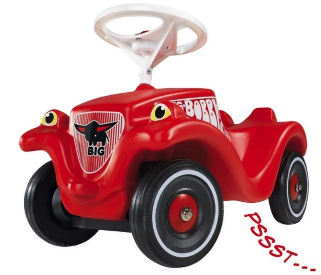 BIG Bobby Car  mit Whisper Wheels u Schuhschonern