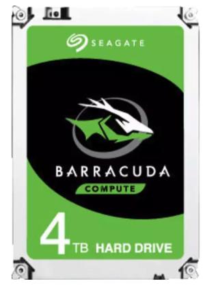 SEAGATE Barracuda, 4 TB, HDD, 3,5 Zoll, intern