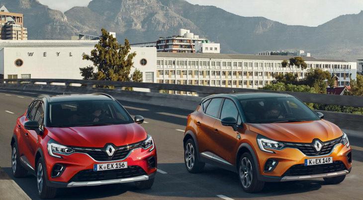Über 100 Möglichkeiten für Ihr persönliches Design Renault Captur