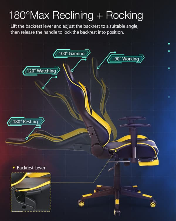 """""""Besondere"""" Eigenschaften des Sessels sind abnehmbare Polster am unteren Rücken und am Kopf sowie eine ausziehbare Fußablage. Eine verstellbare Rückenlehne (bis zu 150°) und ein höhenverstellbarer Sitz sind selbstverständlich. Die angegebene, maximale Belastung sind 150 kg, d"""
